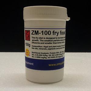 ZM-100 150g baby larval fry fish food zebrafish clownfish koi carp HIGH QUALITY