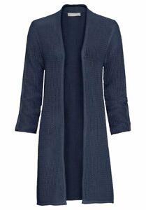 Bianca Cardigan Size 10 BNWT Blue Mid Length Samris RRP £94.95 Now £43