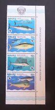 Nauru 1997 Endangered Species Fish SG458/61 used as photo
