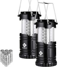 2 Count Collapsible LED Lanterns Tac Light Lamps Emergency Camping As Seen TV