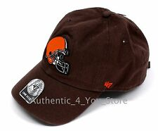 NEW Forty Seven '47 Cleveland Browns Baseball Hat NFL One Size Adjustable Cap