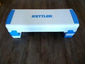 Kettler Steppbrett Stepper Step-Board, 3 Stufen höhenverstellbarer, für Zuhause