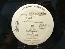 RARE Live Radio Show The Silver Eagle 3 LP Set Razzy Bailey/John Conlee