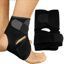 Ankle Strap Support Foot Care Compression Adjustable Wrap Bandage Brace Gym