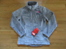 NORTH FACE GIRLS OSOLITA JACKET, METALLIC SILVER, NWT, L (14/16)