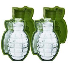 Creative Grenade Shape 3D Ice Cube Mold Maker Bar Party Bar Silicone Tray Mold
