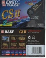 BASF EMTEC CS II 60 2x cassette K7 tape neuf new variant #2