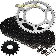 Black O-Ring Drive Chain & Sprockets Kit Fits YAMAHA R1 YZF-R1 1998-2003