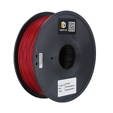 SUPPLY3D PLA plus 1.75 mm 3D Printer Filament in Engine Red, 1kg Spool