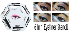 PRO EYELINER STENCIL - 6-IN-1 CAT EYE LINER SMOKEY LOOKS DOUBLE WING FISH TAIL