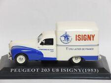PEUGEOT 203 U8 ISIGNY 1953 van IXO Die Cast 1/43 Used - Mint condition -