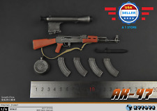【FREE SHIPPING】1/6 AK47 Assault Rifle Soldier Weapon DRAGON Soviet for 12''