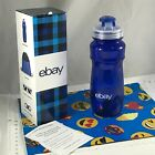 Ebay Blue Plastic Water Drink Bottle 2021 Summer Swag Snap Top BPA Free 700 ml