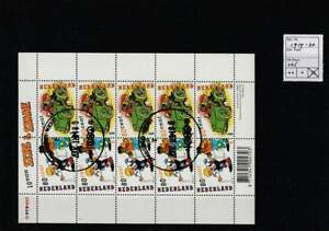 Nederland gestempeld 2000 used sheet V1919-V1920 - Strippostzegels