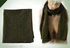 Tactical Mesh Scarf,Breathable Military Jungle Veil,Sniper Cover,Neckerchief- OD