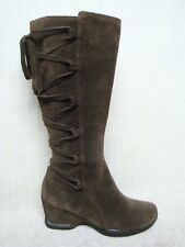 SOFFT - 1402460 -Women's Knee High Brown Suede Leather Fashion Boots -Size 7.5 M