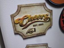 CHEERS Bar Magnet fridg 2 1/4 * 1 3/ Comedy Show TV Sitcom 1895 Boston Man Cave