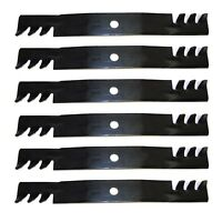 6 Pack 10073 Blades Compatible With John Deere M128485