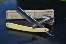 Coupe Choux HELMA shave ready Straight Razor Rasoir Rasermiessier