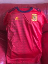 Adidas Spain Home Jersey Soccer Team Nwt Size L Women's Red