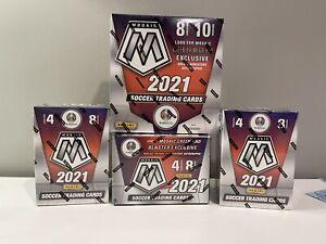 2020-21 Panini Mosaic UEFA Euro Soccer (1) Mega Box & (3) Blasters - Sealed LOT