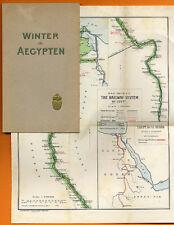 Afrika Ägypten alter Reiseführer der Ägyptischen Staats - Eisenbahn Buch 1906