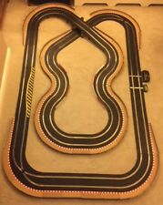Scalextric Sport Layout with Bridge / Corner Xovers / Lap Counter & 2 Cars