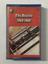 The Beatles 1962-1966 Part 1 Red Cassette Made In Italy Italian Import Tape 1973