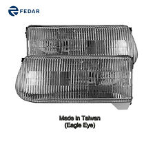 Headlight Lamp Fit 97 Mercury Mountaineer/95-01 Ford Explorer Pair RH & LH