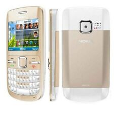 Original Nokia C3-00 Unlocked English Hebrew ect Gold WIFI Bluetooth Cell Phone