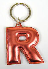Marc by Marc Jacobs Alphabet Letter Initial Key Ring Chain Charm Holder Pink R
