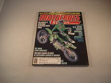 MX ACTION MOTOCROSS ACTION MAGAZINE JANUARY 2000 VOLUME 28 NUMBER 1