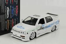 Jesse Jetta VW Volkswagen like and & Furious White 1:24 Jada New