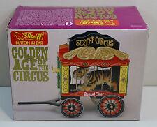 Steiff Circus Golden Age of the Circus Bengal Tiger in Original Box w/ COA #3857