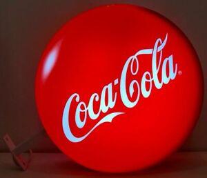 Insegna Bifacciale Luminosa Coca Cola