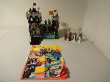 (TB) LEGO 6086 Black Knight's Castle RITTERBURG MIT BA 100% KOMPLETT GEBRAUCHT