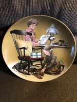 """#5 COLLECTOR PLATE DON SPAULDING """"FATHER'S DAY""""THE AMERICANA HOLIDAYS COLLECTION"""