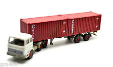 """Wiking 524/9   """" Mercedes-Benz LPS 2223 Stahlcontainer-Sattelzug / Cti """""""