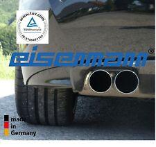 Fer-né BMW e85/e86 z4 2,5si/3,0si 2x76mm l'original! acier inoxydable