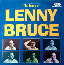 LENNY BRUCE - BEST OF LENNY BRUCE - FANTASY LP - MAROON LBL - LATER PRESSING