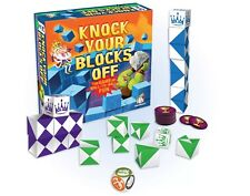 KNOCK YOUR BLOCKS OFF - THE GAME OF WALL TO WALL FUN! FAMILY GAMEWRIGHT GAME