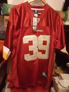 Washington Redskins Red NFL Shirt Jersey #39 Willie Parker Size Large
