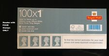 Diamond Jubilee Machin 100 Business Sheet 1st Class HEADER - FOUR Stamps ONLY
