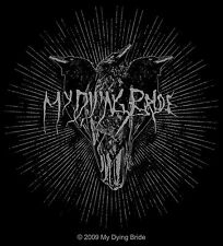 Sticker My Dying Bride Trinity Triple Raven Crow Art English Metal Music Decal