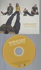 CD--WEEZER TROUBLEMAKER / PROMO