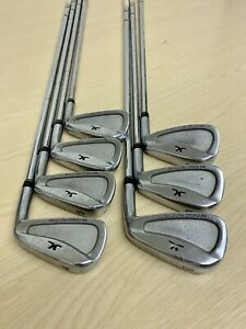John Letters MM Forged Prototype Iron Set 4-PW / Stiff steel / Right Handed