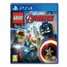 Ps4 gioco Lego Marvel Avengers con Capitan America & ANT MAN Character Pack NUOVO