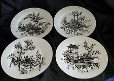 "New ListingAndrea by Sadek- Set of 4 10 1/2"" Dinner Plates-Oriental Theme"