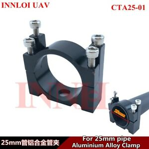 DIY 25mm Aluminum pipe clamp metal Accessories for Drone Multi Rotor Frame tube