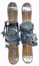 Snowblades, 75cm FiveForty Titan,Wide Ski Blades, M8trix bindings,DOUBLE RATCHET